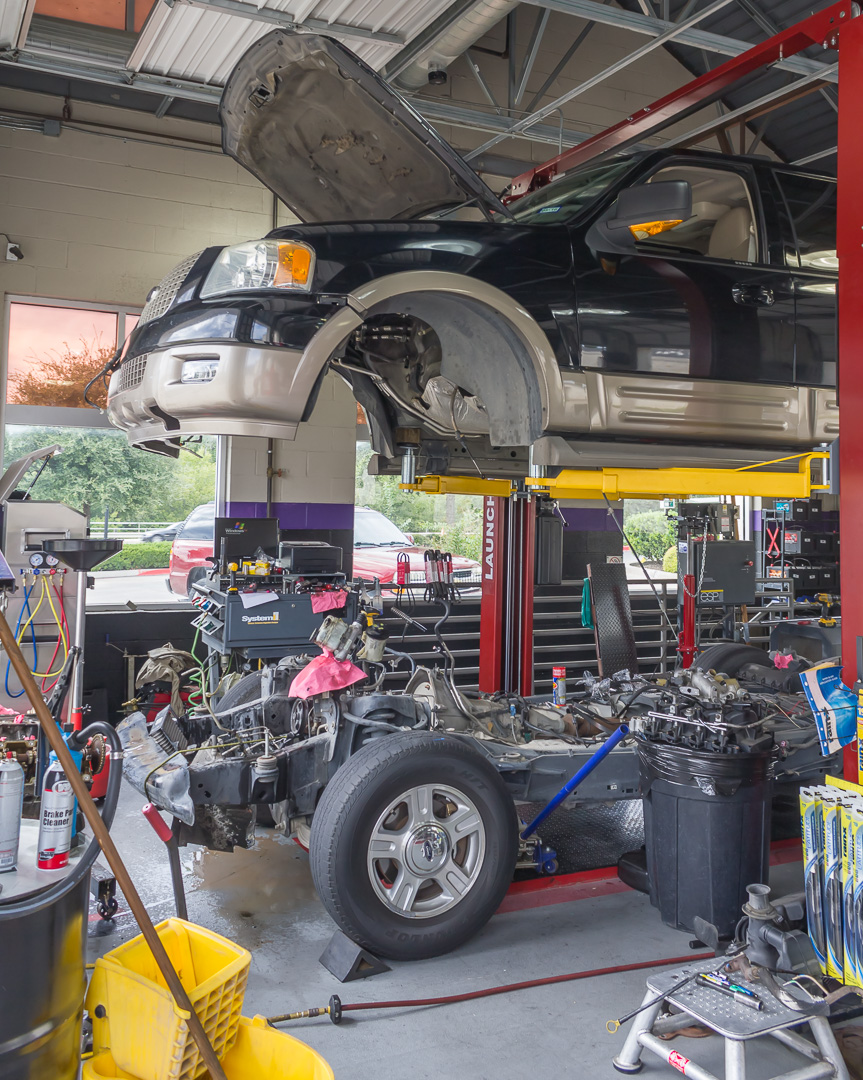 Engine Replacement at MASTERS Car Wash