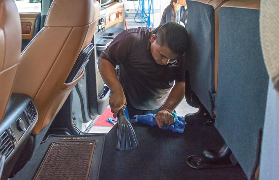 Interior Cleaning Services Mckinney Texas Masters Car Wash